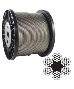6 19 Steel Wire Rope