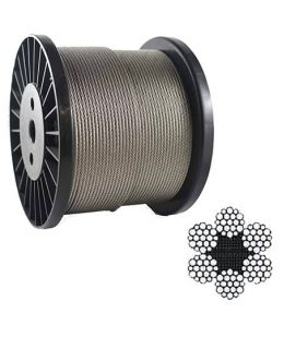 6 19s  6 16w Wire Rope