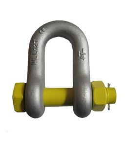 Australian Type Drop Forged Safety Bolt Dee Shackle
