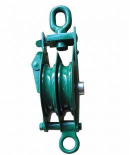 K Type Pulley Block Double With Eye