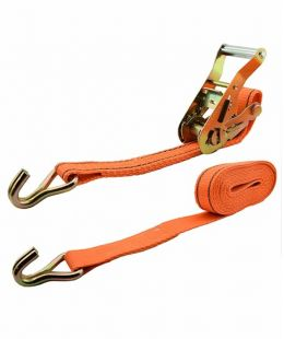 1″ Ratchet Tie Down With Double J Hook